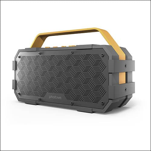 Photive Portable Bluetooth Speaker for iPhone