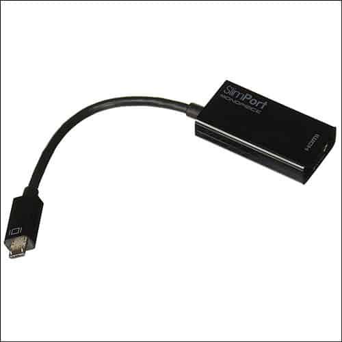 Slimport MicroUSB to HDMI Adapter