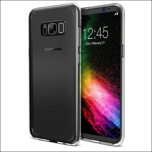 Trianium Best Clear Case for Galaxy S8 Plus