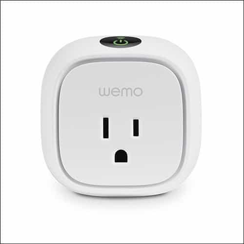 WeMo Wi-Fi Smart Plug