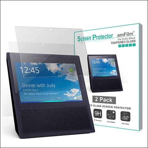 amFilm Amazon Echo Show Screen Protector