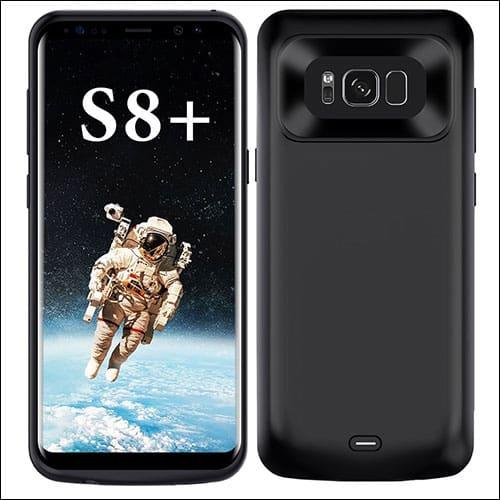 ALCLAP Best Samsung Galaxy S8 Plus Battery Case