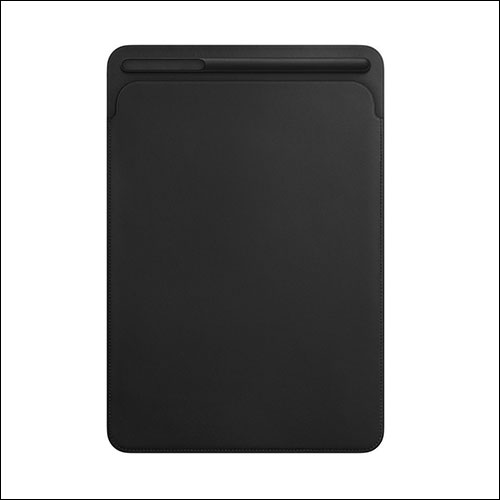 Apple Leather Sleeve for iPad Pro 10.5 Inch Black