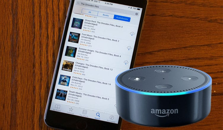 How to Listen to Audiobooks on Amazon Alexa