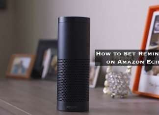 How to Set Reminder on Amazon Echo