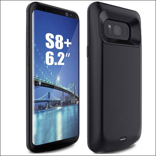 Iconic Best Samsung Galaxy S8 Plus Battery Case