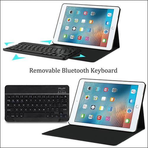 KuGI iPad Pro 10.5-inch Keyboard Case