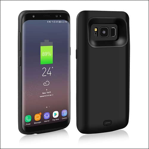 Merticase Best Samsung Galaxy S8 Plus Battery Case