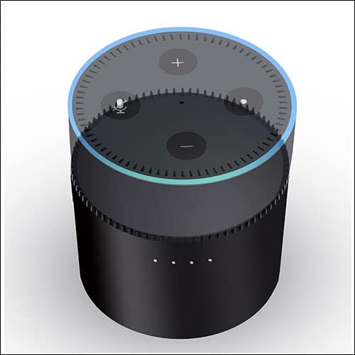 Rerii Amazon Echo Dot Portable Battery Base