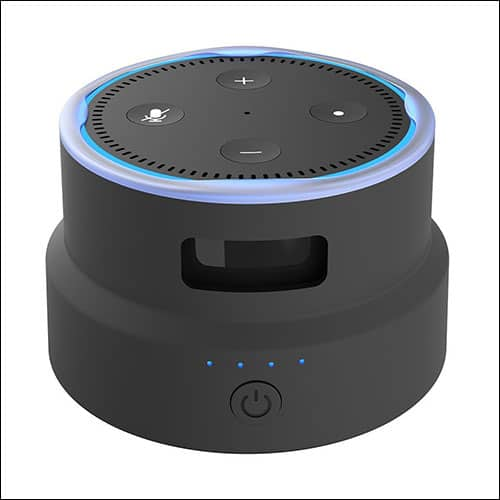 Smatree Amazon Echo Dot Portable Battery Base