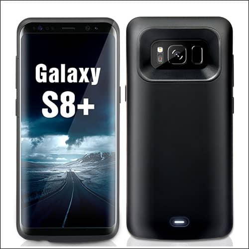 Wuloo Best Samsung Galaxy S8 Plus Battery Case