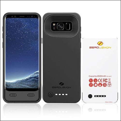 Zero Lemon Galaxy S8 Battery Case