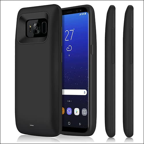 iPossible Best Samsung Galaxy S8 Plus Battery Case