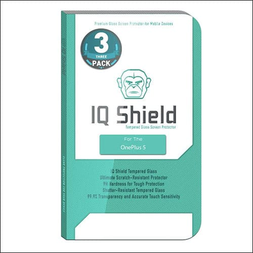 iQShield OnePlus 5 Screen Protector