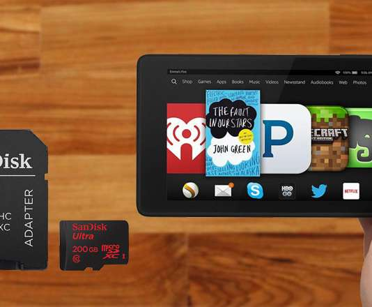 Best microSD cards for Amazon Fire Tablets