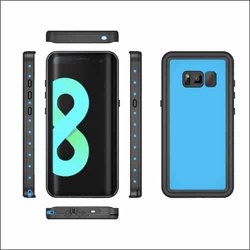 Bolkin Galaxy S8 Waterproof Cases