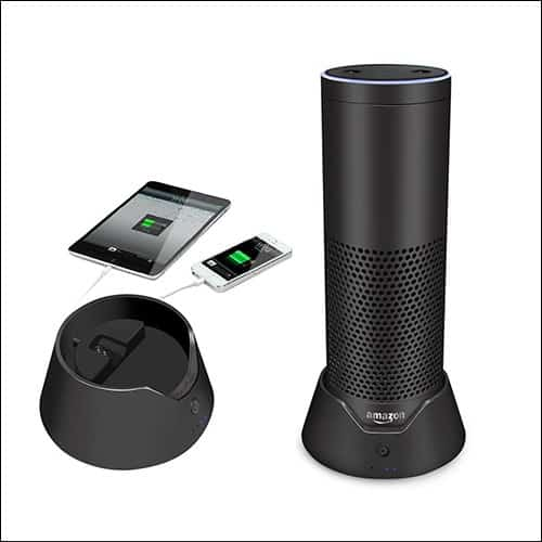 Esimen Portable Amazon Echo Batery Base