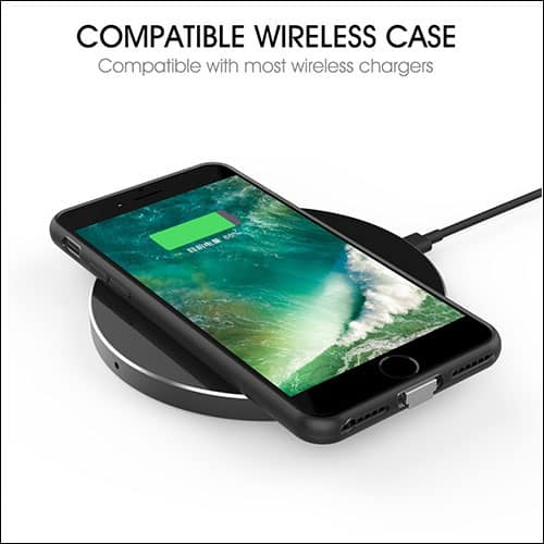 Foxin iPhone 7 Plus Wireless Charging Case