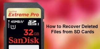 How to Recover Deleted Files from SD Cards