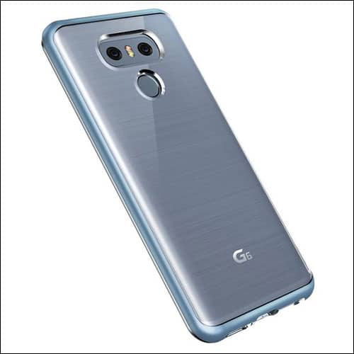 LG G6 CRYSTAL BUMPER Case from VRS Design
