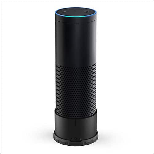 Mission Cables Portable Amazon Echo Batery Base