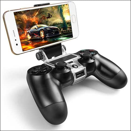 PS4 Wireless Controller Phone Clip Holder Clamp Mount Stand