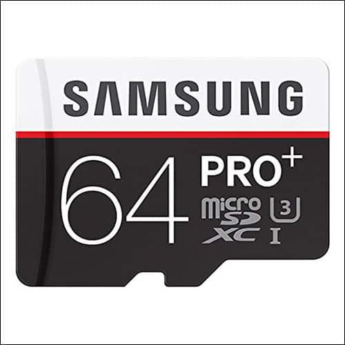 Samsung Pro 64 GB Sd card