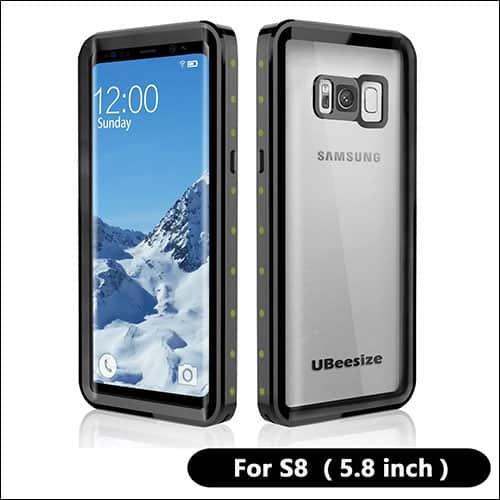 UBeesize Galaxy S8 Waterproof Cases