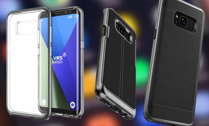 VRS Design Samsung Galaxy S8 and S8 Plus Cases