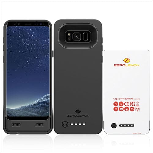 Zero Lemon Galaxy S8 Plus Battery Case