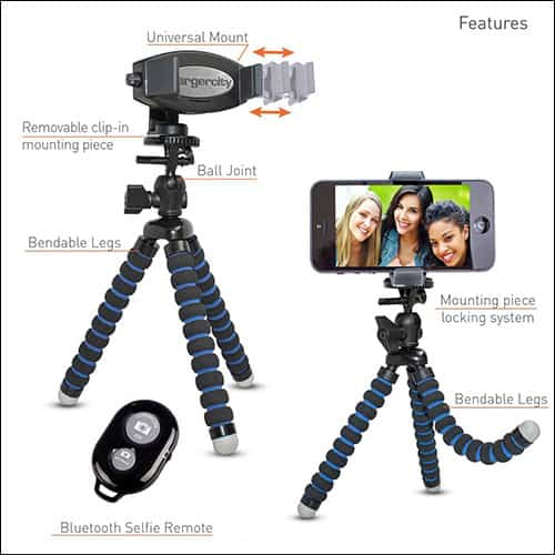ChargerCity 360 Tripod for iPhone