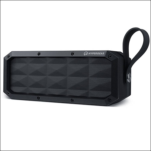 HyperGear Rugged Bluetooth Speakers