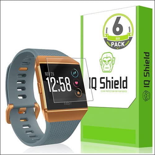 IQShield LiQuidSkin Screen Protector for Fitbit Ionic Smartwatch