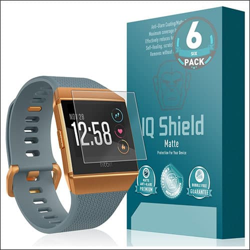 IQShield Matte Screen Protector for Fitbit Ionic Smartwatch