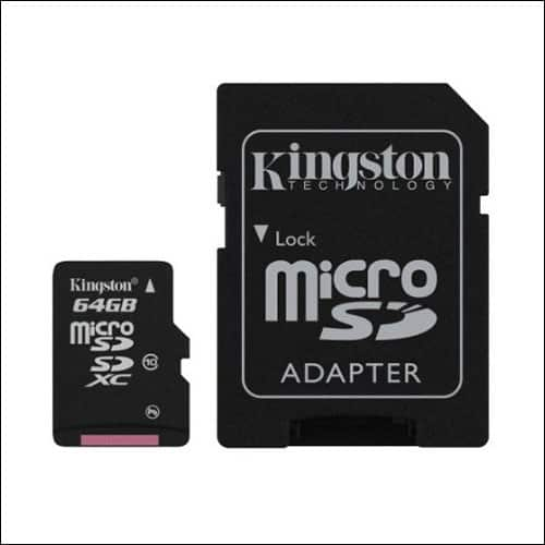 Kingston microSD Card for Moto G5 Plus