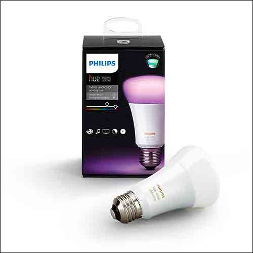 Philips Hue White and Color Ambiance LED Bulb