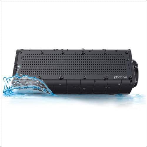 Photive Hydra Rugged Bluetooth Speakers