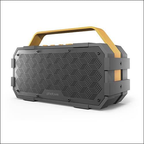 Photive M90 Rugged Bluetooth Speakers
