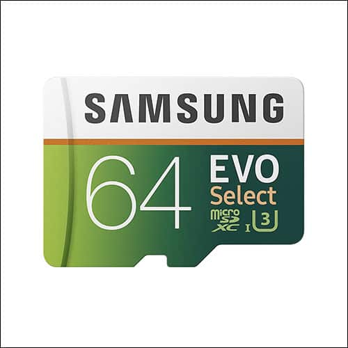 Samsung 64GB microSD Card for Moto G5 Plus