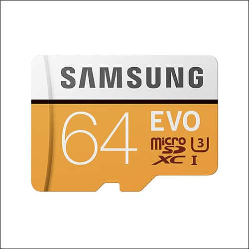 Samsung EVO 32GB microSD Card for Moto G5 Plus