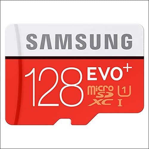 Samsung EVO Plus microSD Card for Moto Z2 Force