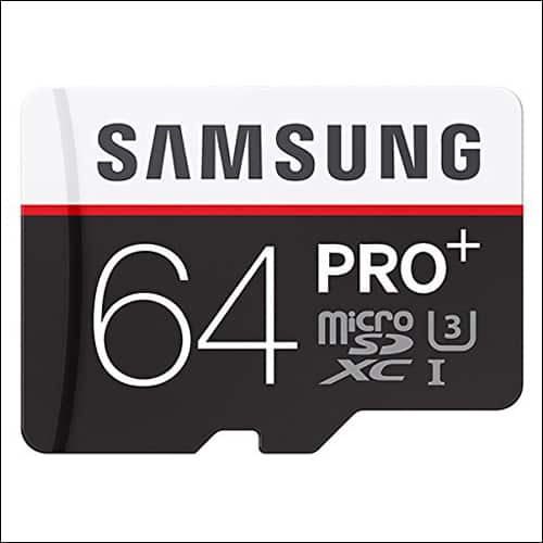 Samsung Pro Plus 64GB microSD Card for Galaxy Note 8