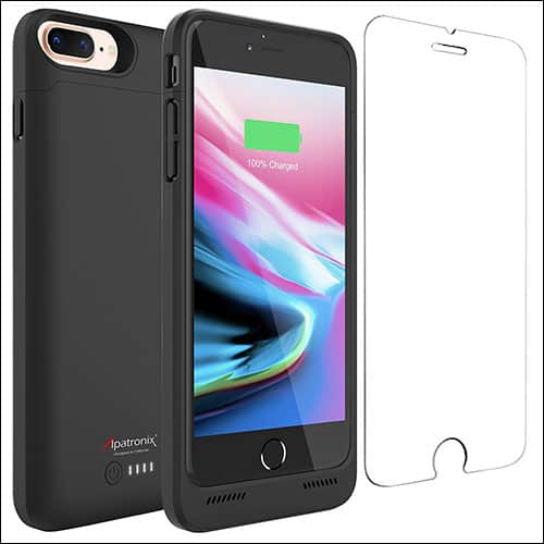 Alpatronix iPhone 8 Plus Battery Case