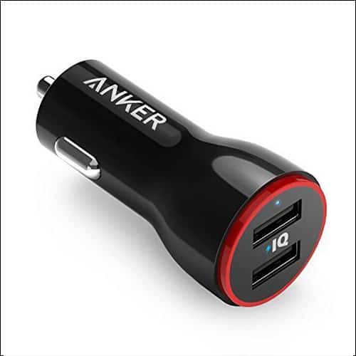 Anker iPhone 8, 8 Plus and iPhone X Car Charger