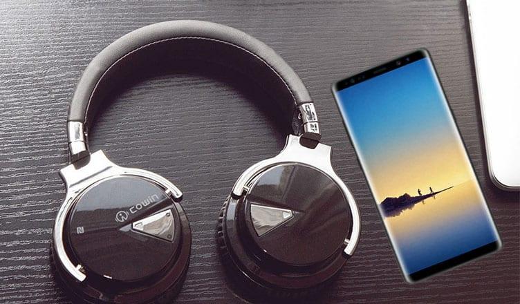 bc570ae9d7b Best Galaxy Note 8 Bluetooth Headphones: Cancel External Noise to Enjoy  Pure Music