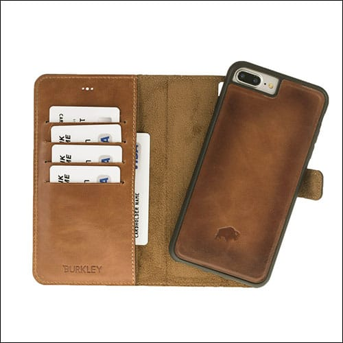 Burkley iPhone 8 Plus Wallet Case