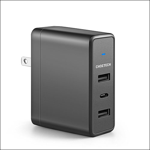 CHOETECH Fast Charging Power Adapter for iPhone 8, 8 Plus, and iPhone X