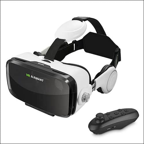 ELEGANT VR headset for iPhone 8 and 8 Plus