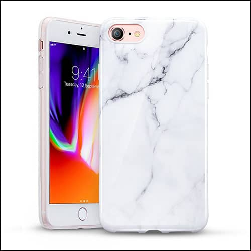 ESR iPhone 8 Marbale Case