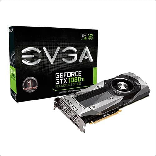 EVGA GeForce GTX 1080 Ti FOUNDERS EDITION GAMING 11GB GDDR5X